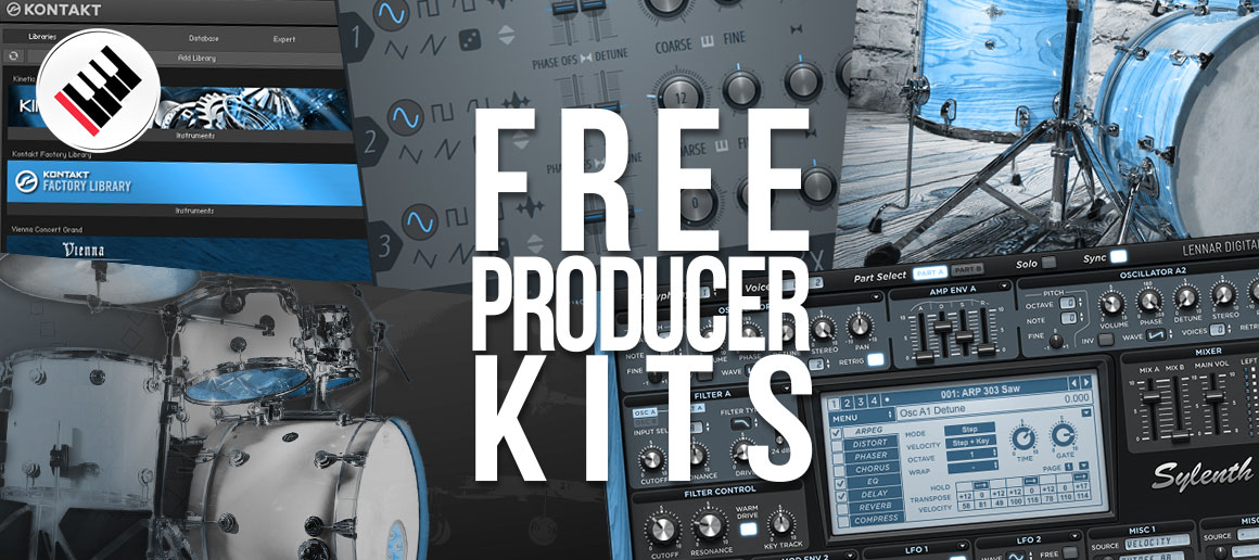 Free Kits for Producers (Drum Kits, Preset Banks, etc ) | Beats24-7 com