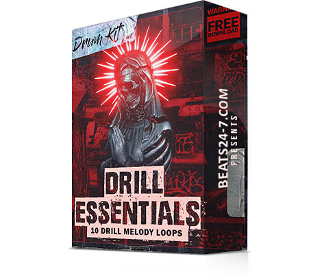 Free Drill Sample Pack - Drill Essentials (Drill Loops & Drums) | Beats24-7