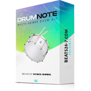 "LoFi Drum Kit - Custom Drum Samples Hip Hop ""DrumNote"" 