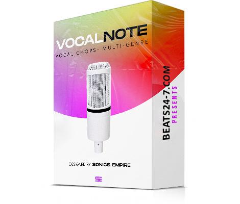 Vocal Samples Pack - VocalNote (Vocal Loops & Samples)   Beats24-7