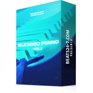 "Piano MIDI Loops (Hip Hop Piano Loop Kit) ""Blessed Piano"" 