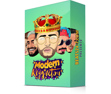 "Reggaeton Loops & Dancehall Samples ""Modern Reggaeton"" 