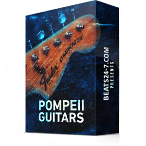"Royalty Free Guitar Samples (Sample Pack) ""Pompeii Guitars"" 