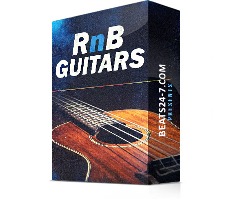 """RnB Guitars"" (Royalty Free Guitar Loops & Samples) 