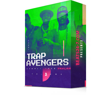 "Trap Sample Pack (Trap Loop Kit) ""Trap Avengers V3"" 