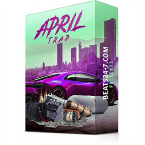 "Trap Beat Construction Kits + Drum Kit ""Trap Wave April"" 