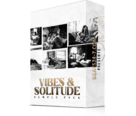 "Hip Hop Samples Pack (Trap Samples & Loops) | ""Vibes & Solitude"""