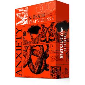 """Trap Violin Loop Kit (Royalty Free Violin Samples) """"Anxiety & Death"""""""