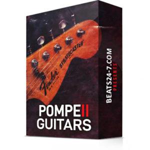 "Royalty Free Electric Guitar Loops ""Pompeii Guitars V2"" | Beats24-7.com"