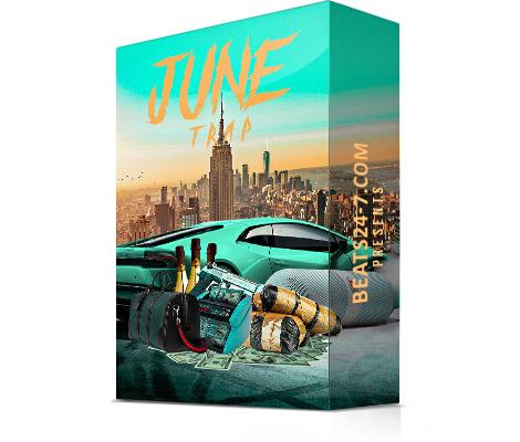 "Royalty Free Trap Loops (Trap Beat Construction Kits) ""Trap Wave June"""