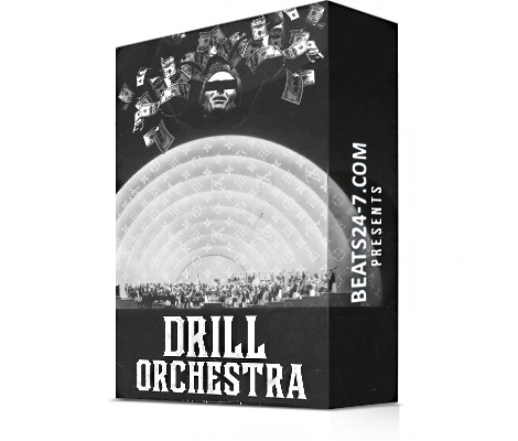 "Trap Drill Beats (Drill Samples & Trap Loops) ""Drill Orchestra"" | Beats24-7"