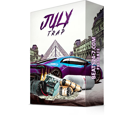 """Royalty Free Trap Loops (Trap Samples & Type Beats) """"Trap Wave July"""""""