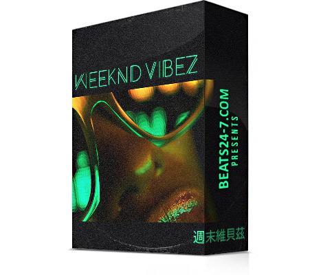 "Hip Hop Sample Pack ""Weeknd Vibez"" (R&B + LoFi Samples) | Beats24-7"