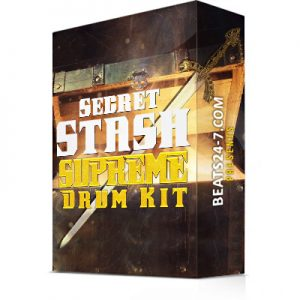 "Trap Drum Kit ""Secret Stash Supreme"" Drum Kit 